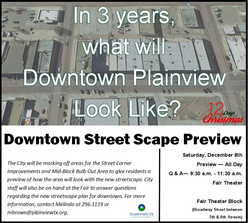 Downtown Streetscape Preview