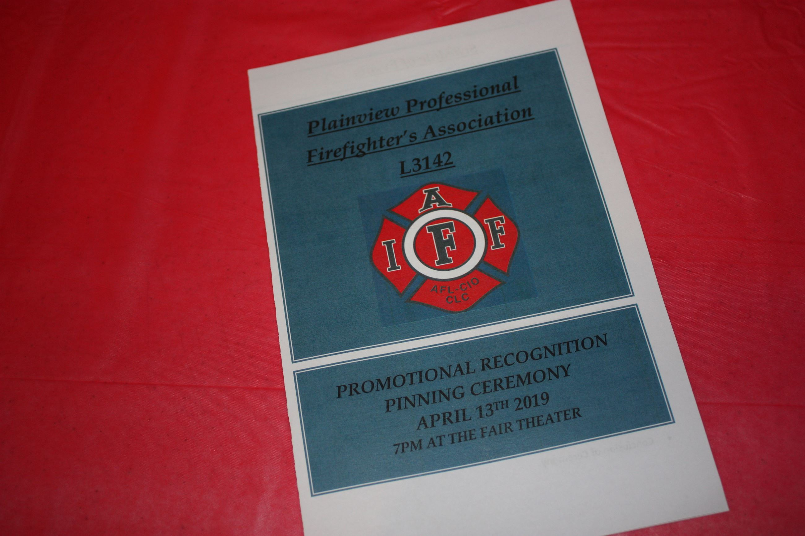 Fire Pinning Ceremony 4