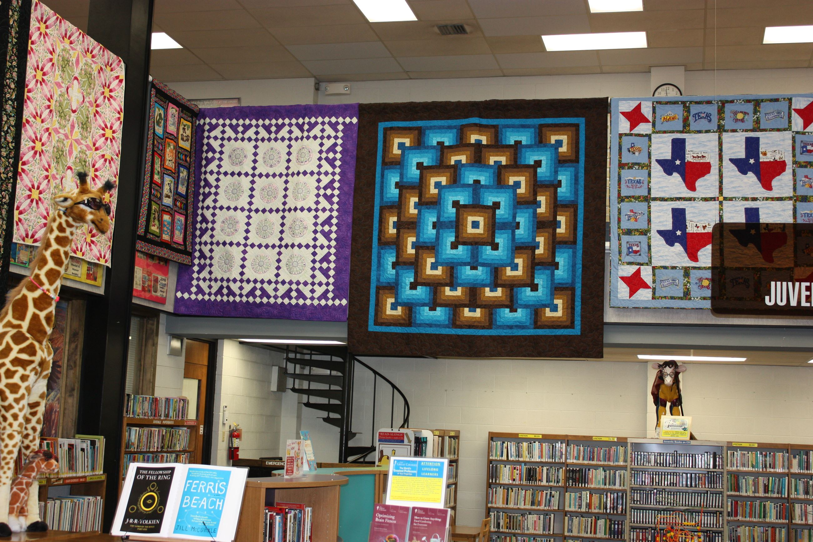 2019 Quilt Hanging Display 1