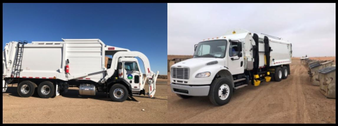 New Trash Trucks