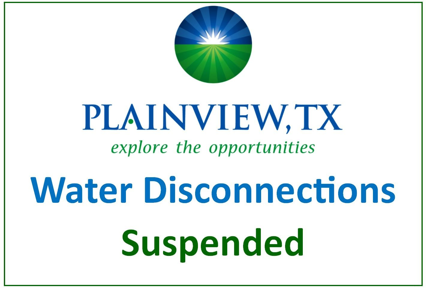Water Disconnect Graphic