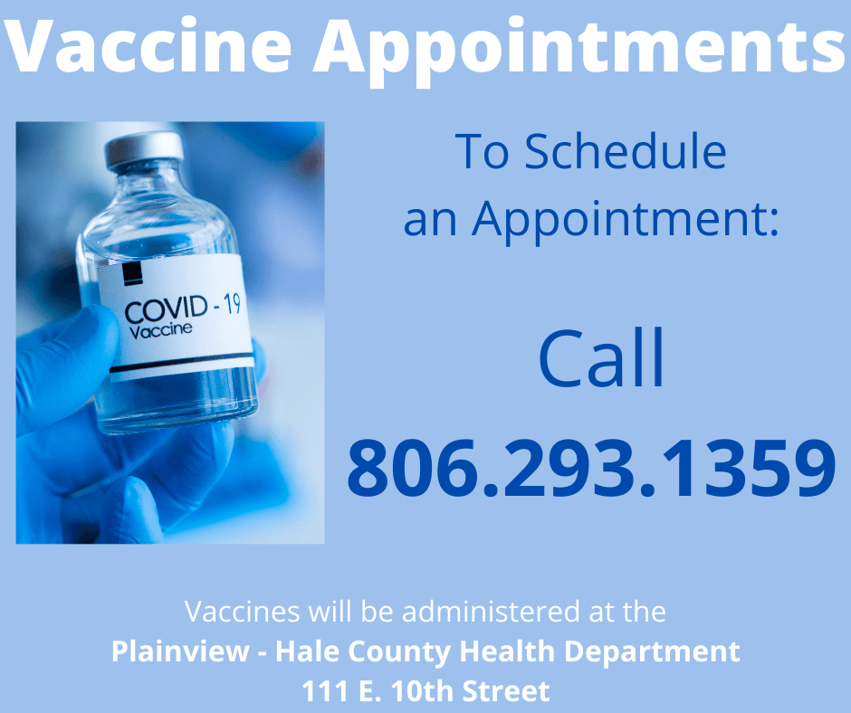Vaccine Appointments 2