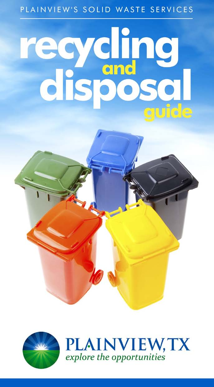 Recycling and Disposal Guide