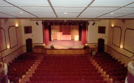 View of the Fair Theatre stage